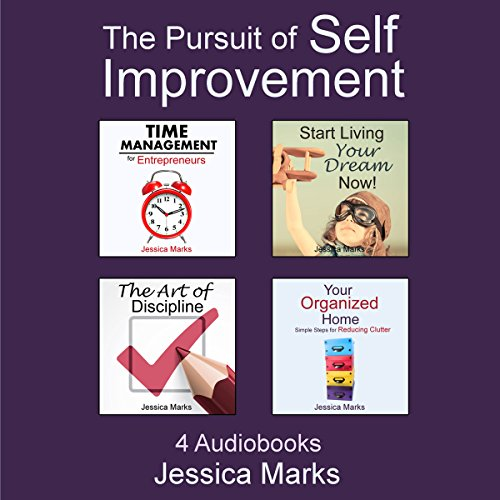 The Pursuit of Self Improvement Bundle Set 1: Books 1-4 audiobook cover art