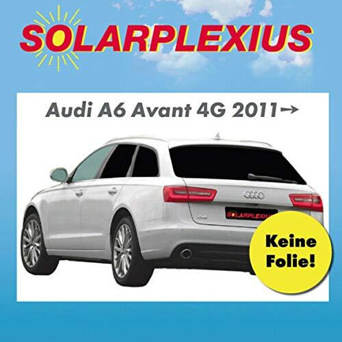 Sonnenschutz Autosonnenschutz Kinder Baby Scheiben-Tönung Sichtschutz Heckscheibe und Seitenscheiben Keine Folie A6 Avant Typ 4G-C7 Bj. 2011-18
