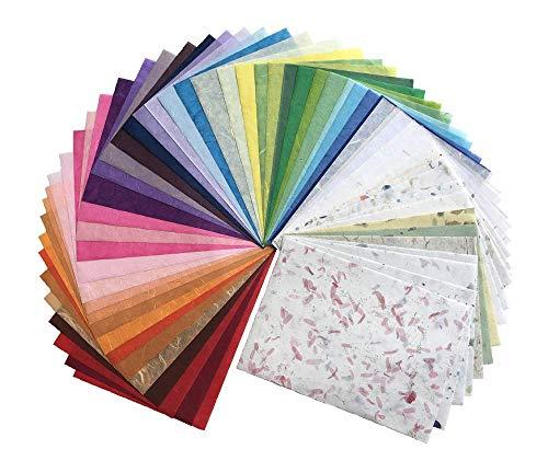 40 Blatt 21,6 x 27,9 cm Maulbeerpapier Blatt Design Handwerk Handwerk Kunst Tissue Japan Origami Washi Großhandel Bulk Sale Lieferanten Thailand Produkte Kartenherstellung