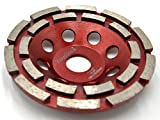 <span class='highlight'><span class='highlight'>NOVOTOOLS</span></span> Extreme Grinding Diamond Disc 125mm Double Row Diamond Cup Wheel for Concrete, Marble, Granite, Stone, Cement and Ceramics. Professional High Quality