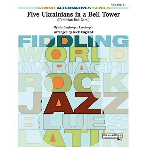 Cinque ucraini in un campanile (ucraino Bell Carol)