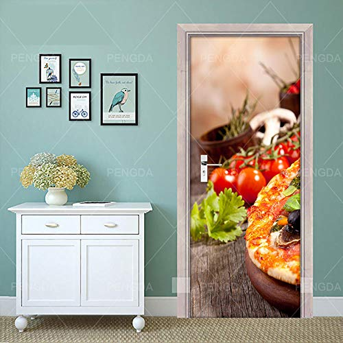 Papierdruck Kunst 3D ReDoor Aufkleber Saison Lebensmittel Dessert PVC Wandhauptdekor Bild Selbstklebende Wasserdichte Papier Schlafzimmer