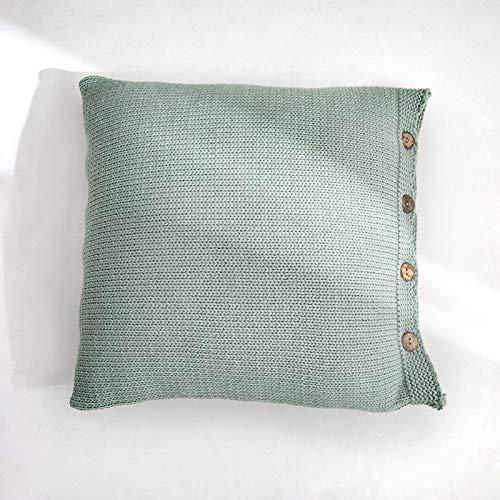 H/A Vera Cojines del sofá Cubierta de la Almohadilla línea en Negrita Amortiguador Suave Nordic sin el núcleo Significa Morandi MENGN (Color : Blue, Size : 45 * 45cm)
