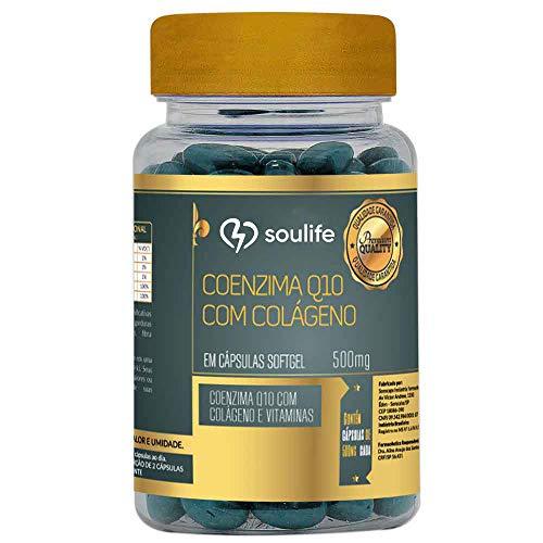Coenzima Q10 com Colágeno - 60 Cáps - Soulife