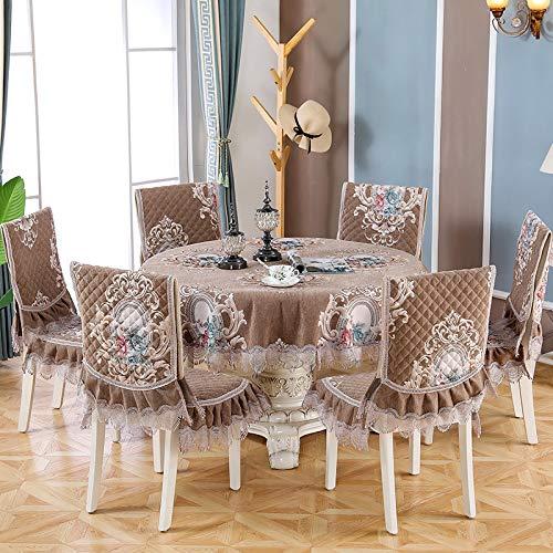 PhantasyIsland.com Mantel Antimanchas Rectangular, Manteles Mesa Decorativo para Hogar Comedor del Cocina, 130 * 180cm
