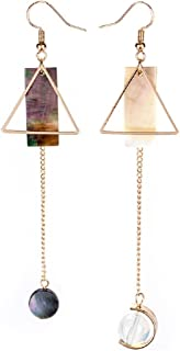 Korean Style Creative Geometry Design with Long Pendant Ear Clips/Earrings for Women's Accessories