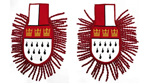 Köln Schulterklappen Wappen Epaulette
