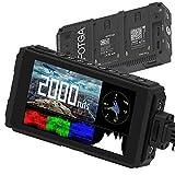 Fotga C50 Écran de champ pour appareil photo 5' Ultra Bright 2000 nit HD IPS écran tactile avec 3G SDI, 3D-LUT, forme d'onde, câble HDMI 4K, deux batterie compartiments pour Canon Nikon Panasonic Sony