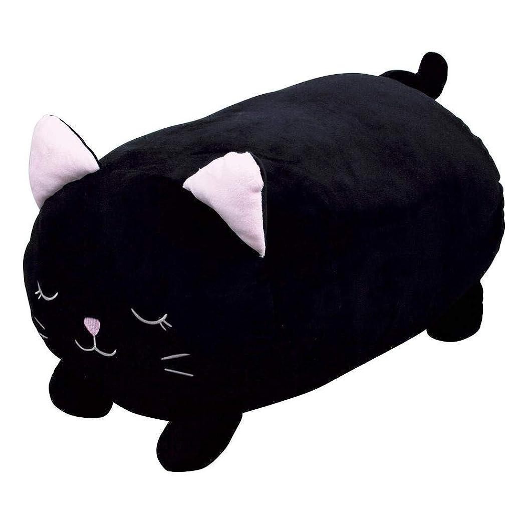上げるプラカードアナニバーほっこりめいと 抱き枕 G-6524BK 黒猫のモモ