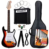 Rocktile ST Pack Guitare electrique Set Sunburst kit y compris...