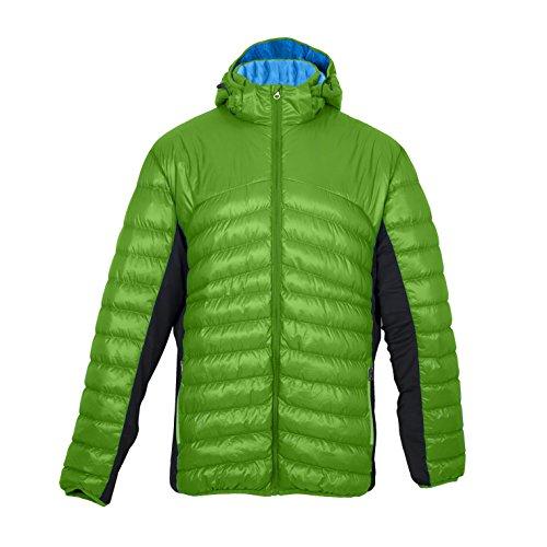 DEPROC-Active Herren Primaloftjacke Gilmour Powerstretch Jacke, grün, XXXL