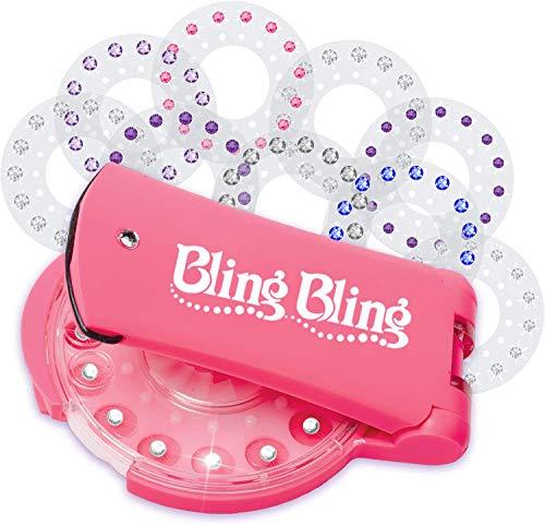 HMEDA Blin-Ger Diamond Styler Kit,Glam Styling Tool con 180