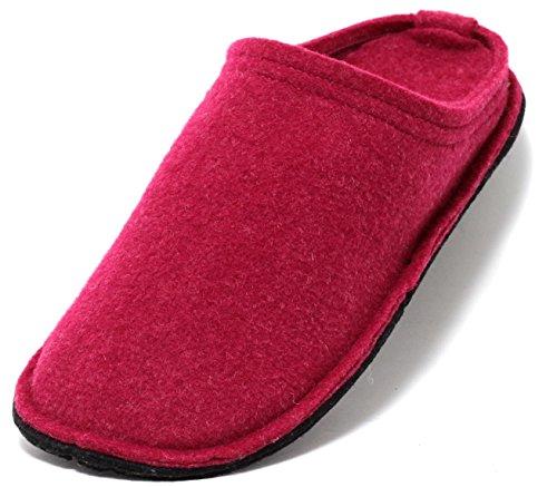 Zapato Damen Hütten Hausschuhe aus Filz in Beere PINK Gr.37-40 (38) Filzhausschuhe Filzpantoffeln Slipper Pantoffeln Puschen Hüttenschuhe