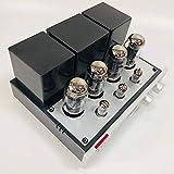 RFTLYS - A2 - KT88 - 真空管 プリメイン アンプ と イヤホン アンプ Bluetooth ステレオ (銀色)