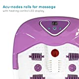 Zoom IMG-2 homedics idromassaggiatore plantare massaggiatore per