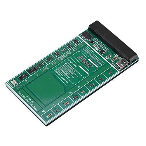 Asixxsix Placa de Circuito de activación Universal, Placa de activación de batería rápida y Segura, con Cable Micro USB Pantalla LED Dual para Samsung iPhone Huawei