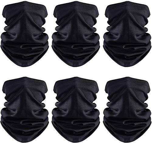 FRAUIT Multifunctionele sjaal voor bikers, bandana, eenkleurig, voor de zomer, ademend, dunne motorfiets, mondbescherming, halsdoek voor dames en heren
