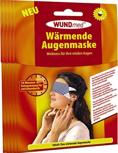 Wärmende Augenmaske   Augenpflege - Anti Falten, Tränensacke, Augenringe und Kopfschmerzen   Augenpflege   Hautfreundlich *Zertifiziert*   Für Männer und Frauen (5er Pack - Spare 10{6551a72f7bed2edd2a384f4b65b8b01c7bd2c6991d0bd82d25bafa2777774fc1})