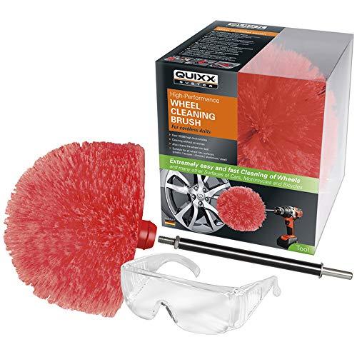 Quixx QWCB1 Wheel Cleaning Brush/Brosse à Jantes