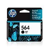 HP 564 | Ink Cartridge | Works with HP Deskjet 3500 Series, HP Officejet 4600 5500 C6300 6500 7500 Series, B8550, D7560, C510, B209, B210, C309, C310, C410, C510 | Black | CB316WN