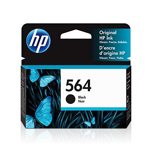HP 564 | Ink Cartridge | Black | Works with HP DeskJet 3500 Series, HP OfficeJet 4600 5500 C6300 6500 7500 Series, B8550, D7560, C510, B209, B210, C309, C310, C410, C510 | CB316WN