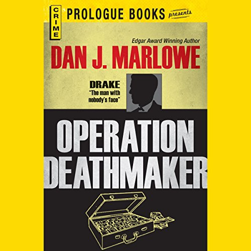 Operation Deathmaker audiobook cover art
