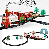 CTRLZS Christmas Classic Train Set with Lights and Sounds Railway...