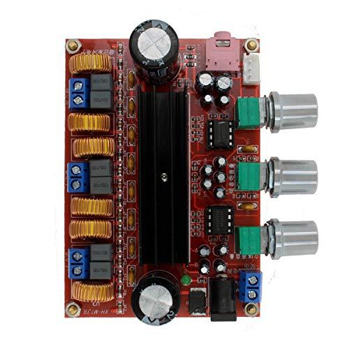 Goed product 2019 2.1-kanaals digitale versterker printplaat module met 12 V-24 V spanning, TPA3116D2 2 * 50 W + 100 W LDTR-WG0197