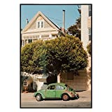 Golden State Art, Metal Wall Poster Frame Collection, 13x19 Aluminum Black Photo Frame with Plexi-Glass