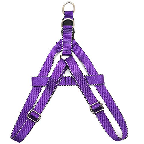 Mycicy No Pull Dog Harness, Adjustable Nylon Basic Halter Harness for X-Small, Small Puppy, Medium, Large in Outdoor Walking