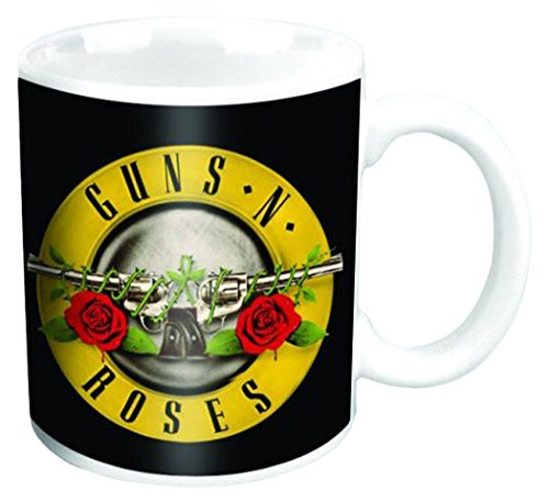Empire Merchandising 688385 Guns N' Roses Bullet tamaño Taza de cerá