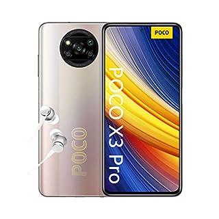 "POCO X3 Pro - Smartphone 8+256GB, 6,67"" 120Hz FHD+ DotDisplay, Snapdragon 860, 48MP Quad Caméra, 5160mAh, Bronze Métal (Version Français + 2 ans de garantie) (B08XY8LMMC) | Amazon price tracker / tracking, Amazon price history charts, Amazon price watches, Amazon price drop alerts"