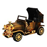 Music Box for Valentine's Day, The Beast Music Box Retro Style Moving Car