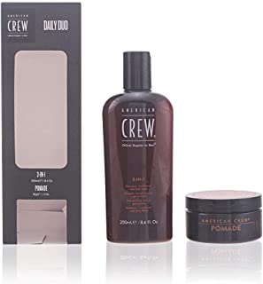 American Crew 3 In 1 Shampoo and Pomade, 250ml (Pack of 2)