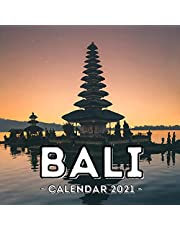 Bali Calendar 2021: 16-Month Calendar, Cute Gift Idea For Indonesia Lovers Women & Men