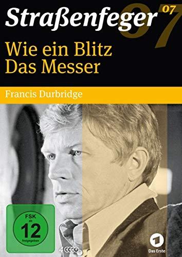 Straßenfeger 07: Wie ein Blitz / Das Messer (Durbridge-Krimis) [4 DVDs]