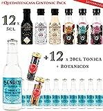 Pack degustación SANTAMANIA - Surtido 12 gintonics craft