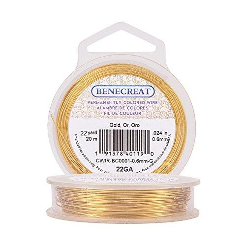 22-Gauge Tarnish Resistant Gold Wire