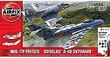 Airfix-1/72 Mig 17F Fresco Douglas A-4B Skyhawk Dogfight Double Construcción de maquetas. (Hornby Hobbies LTD A50185)