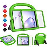 BMOUO Kids Case for Samsung Galaxy Tab A 8.4 2020 SM-T307, Tab A 8.4 2020 Case with Built-in Screen Protector, Shockproof Light Weight Handle Stand Case for Samsung Galaxy Tab A 8.4 Tablet- Green