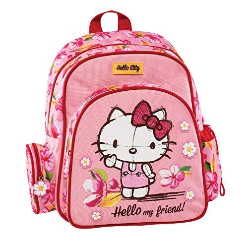 Graffiti Hello Kitty Zaino, 30 cm, Rosa (Pink)