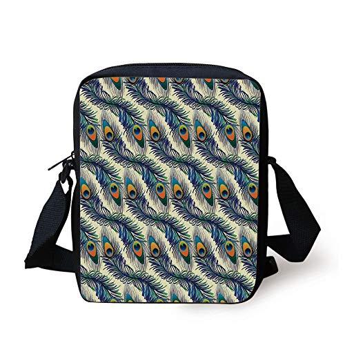 Futong Huaxia American Flag Baseball Travel Messenger Bags Handbag Shoulder Bag Crossbody Bag Unisex