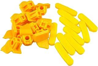 Kesoto Qtde (20) pastilhas protetoras de plástico de nylon para troca de roda de pneu de 27 mm