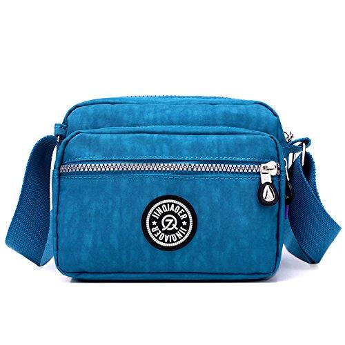 Outreo Borse a Spalla Casuale Borsello Donna Borse da Moda Leggero Borsa Tracolla Impermeabile Sacchetto Sport Bag Borsetta Ragazze