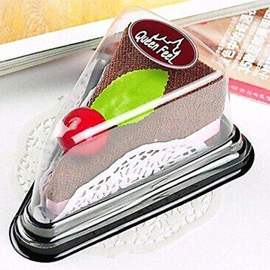 Miaoge Bad Gadgets, creatieve handdoek sandwichvorm polyester materiaal, vakantie of verjaardagscadeau (willekeurige kleur)