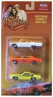 Ertl Dukes of Hazzard Die Cast Cars Set of 3 Yellow Car