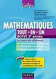 Mathématiques tout-en-un BCPST 2e année - Le cours de référence - Le cours de référence