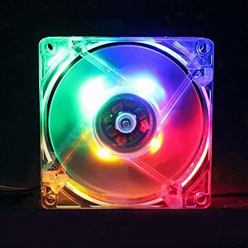SMEJS 80mm DIRIGIÓ Computadora Ordenador Personal Ventilador 8025 silencioso Ventilador de enfriamiento...