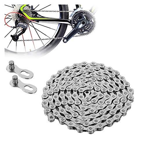 Cadena de bicicleta Cadena de bicicletas Mountain Racing Bike Collar de placas completas Anti-repentas de desgaste del desgaste 6-7-8 / 9 / velocidad  Accesorios para bicicletas eléctricas para niño