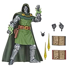 VINTAGE-INSPIRED PACKAGING: Marvel Vintage 6-inch Collection classic Marvel action figures are inspired by the Marvel comics and vintage Fantastic 4 toy packaging (Each sold separately. Subject to availability.) CLASSIC DR. DOOM FIGURE: This collecti...